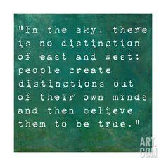 Inspirational Quote By Siddhartha Gautama (The Buddha) On Earthy Background Art Print by nagib at Art.com