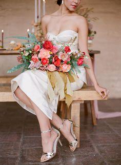 Moderne California Wedding-Shooting Mit Fett Florals  - California, Fett, Florals, Moderne, WeddingShooting - Mode Kreativ - http://modekreativ.com/2017/01/12/moderne-california-wedding-shooting-mit-fett-florals.html