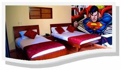 Hotel Comic City en Bogotá Colombia.