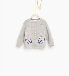 Butterfly jacket-SWEATERS AND CARDIGANS-BABY GIRL   3 months-3 years-COLLECTION AW16   ZARA United States