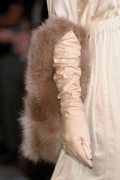 Nina Ricci F/W 2012, Paris Fashion Week #fur #fashion