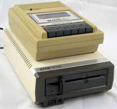 "The popular Atari 410 cassette recorder and 1050 5.25"" floppy disk drive, the former with styling that matches the original 400/800 and the latter an aesthetic match for the 600XL/800XL/1200XL."