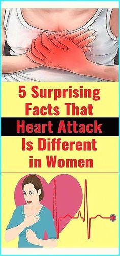 5 surprising facts that heart attack is different in women - #NaturalRemediesForUti
