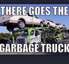 It's full of Fords haha