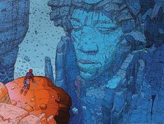 'Jimi Hendrix' by 'Moebius' (French Artist,Cartoonist Jean Giraud Art And Illustration, Illustration Inspiration, Comic Illustrations, Jean Giraud, Jimi Hendrix, Comic Book Artists, Comic Artist, Arte Indie, Ligne Claire