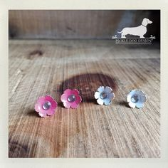 CLEARANCE Pink and White Petals. Daisy Flower by PickleDogDesign