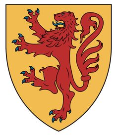 House of Bruce - WappenWiki Medieval Shields, Shield Design, Scottish Castles, Family Crest, Picts, Crests, Coat Of Arms, Herb, Knight