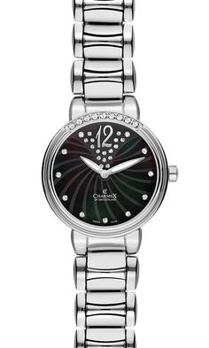 The CAPRI by Charmex of Switzerland™; luxury Swiss Made wrist watches on the official Charmex of Switzerland™ website Stainless Steel Case, Omega Watch, Switzerland, Plating, Sapphire, Capri, Black Leather, Quartz, Rose Gold