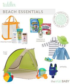 Beach Essentials for Toddlers