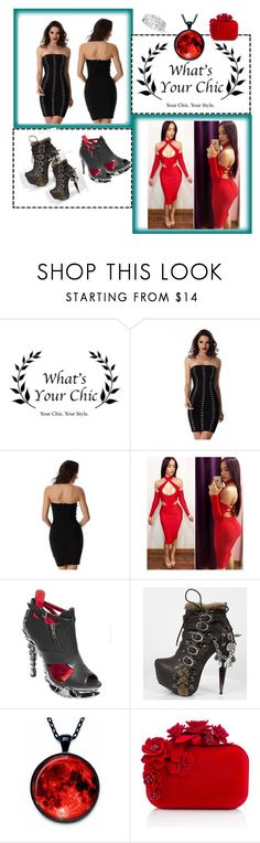 """""""Whatsyourchic"""" by angelihenkle ❤ liked on Polyvore featuring HADES and Jimmy Choo"""