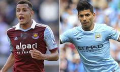 Manchester City vs West Ham Live Soccer, West Ham, Manchester City, Sport Watches, Liverpool, Sports, Hs Sports, Sport