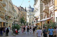 Fussgängerzone,Baden-Baden