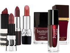 12 Marsala Lipsticks and Nail Polishes You'll Love