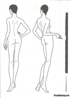 Создаем фешн эскиз или давайте немного побудем дизайнерами! / эскизы одежды