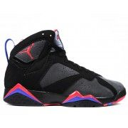 Air Jordan 7 Retro Defining Moments Black Charcoal Team Red $103.00 http://www.theredkicks.com