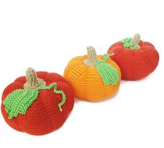Crochet Pumpkin Cornucopia Kitchen Decoration Play food Amigurumi pumpkin Crochet Vegetables Toys for toddlers Stuffed