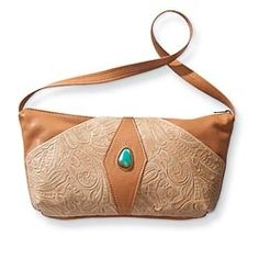 Valerie's Embossed Leather Handbag in Fall 2012 from Uno Alla Volta on shop.CatalogSpree.com, my personal digital mall.