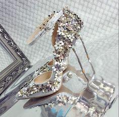 Womens Pointed Toe Flower Decor High Heel Stilettos Pump Shoes Clubwear Hot Z198