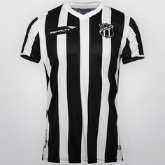 Camisa Penalty Ceará I 2015 nº 10 - Preto+Branco