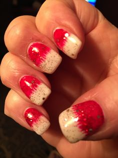 my new christmas nails 2016