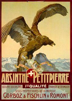 Absinthe Petitpierre, Romont, Suisse by Anonymous / 1900