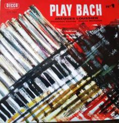 PLAY BACH N° 1 (Jazz)  Jacques Loussier