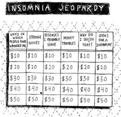 Insomnia Jeopardyhttp://daily-meme.tumblr.com/