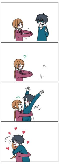 湯壱 (2012). [Surprise hug]. Retrieved November 20, 2016 from http://e-shuushuu.net/image/549622/