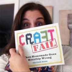 If you aren't failing, you aren't trying!!!  Get the CraftFail book now!
