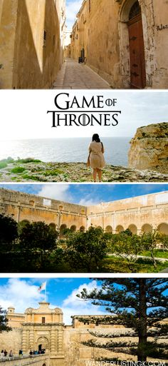 Love Game of Thrones? Read about the Game of Thrones filming locations in Malta and an independent review of the Game of Thrones tour in Malta with photo inspiration to visit Malta! Malta Game Of Thrones, Game Of Thrones Locations, Cool Places To Visit, Places To Travel, Places To Go, Europe Travel Tips, Travel Destinations, Travel Hacks, Travel Advice