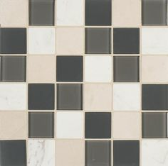 Decorating preferences continue to be inspired by the bold contrasts found in nature. Glass mosaics bring these contrasts to life and have emerged as a dominant force in tile accessories. Our new introductions offer a unique take on this trend and feature a combination of clear and frosted glass, and natural stone in three versatile and fashion-forward blended color offerings.