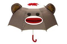 Sock Monkey Umbrella.  $12.95.