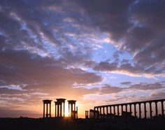 Palmyra developed at the site of a desert oasis, and first flourished in the last centuries BCE as a staging post on trade routes across the Middle East. Under the Roman emperor Tiberius (14-37 CE), Palmyra eventually became part of the Roman province of Syria, but retained much of its autonomy. The importance and wealth of the city continued to grow as vital trade routes were extended as far as India and China.