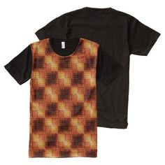 (Warm Brown Weave All-Over Print T-shirt) #Aleta #BackToSchool #Brown #Coffee #Fashion #Office #Sepia #SpontaneousCombustion #Teen #Unisex #Warm is available on Funny T-shirts Clothing Store   http://ift.tt/2dE6a8u