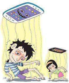 젊은 병들게 하는 '스마트폰 공해'·