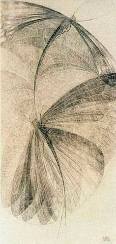 Libellen ~ artist Erika Giovanna Klein, c.1936