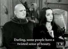 The Adams family on beauty. by claudia