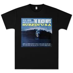 BEACHBOYS T-shirt features the album art from the 1963 classic Surfin' USA