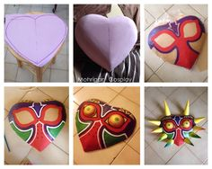 How to make a Majora's Mask out of Worbla My page: www.facebook.com/m.cosplay This took me about 2-3 days with the materials I had left. (it...