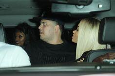 Rob Kardashian and Blac Chyna leave Ace of Diamonds strip club in LA Blac Chyna, Brown Skin, Kardashian, Blonde Hair, Diamonds, Club, Chocolate, Blonde Hair Colour, Dark Skin