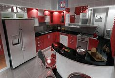 Cozinha Vermelha :)