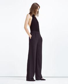 Image 1 of HALTER NECK BODYSUIT from Zara