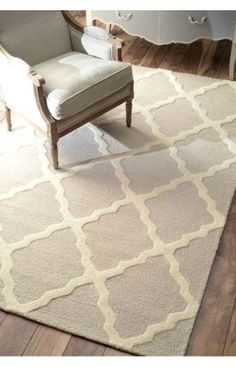 $5 Off when you share! Rugs USA Homespun Moroccan Trellis Tan Rug