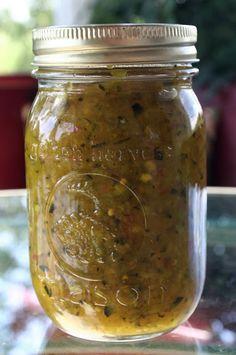 Mrs. Murray's #Zucchini Relish Recipe