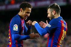 Jordi Alba: Para mí es mejor que no esté Neymar