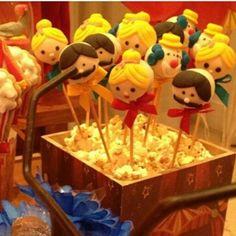 Circus cakepop Circo cakepop