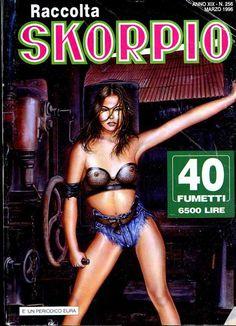 Fumetti EDITORIALE AUREA, Collana SKORPIO RACCOLTA n°256 - MARS 1996