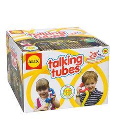 Look at this #zulilyfind! Talking Tubes Set #zulilyfinds