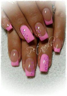 Pink #nailart