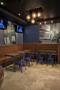 Bench Sports Bar - Lily Z Interior Decor & Consultation